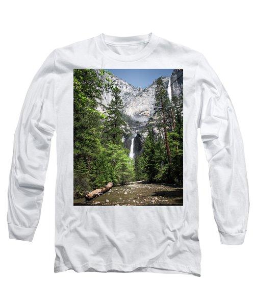 Upper Lower Long Sleeve T-Shirt by Ryan Weddle