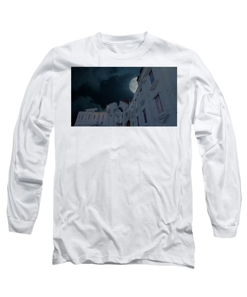 Upside Down White House At Night Long Sleeve T-Shirt