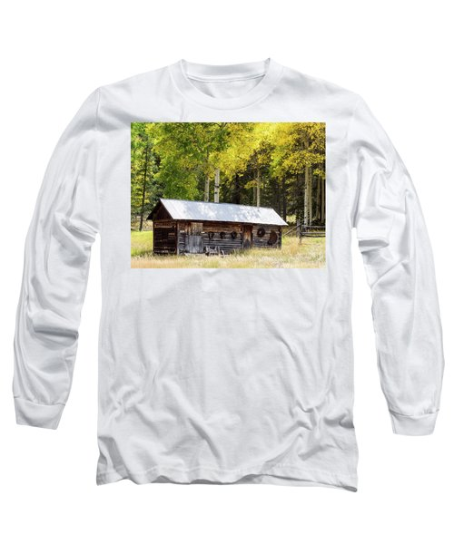 Uptop A Colorado Ghost Town Long Sleeve T-Shirt
