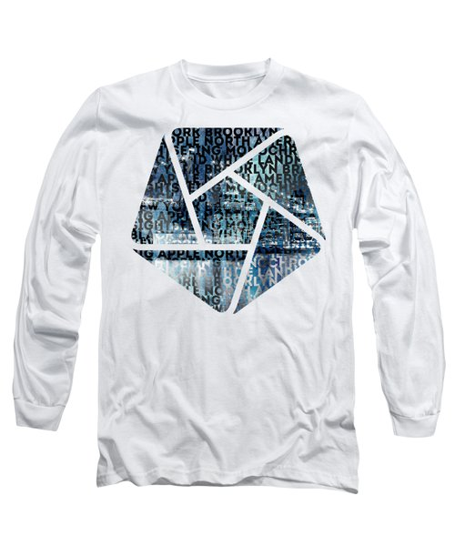 Urban-art Nyc Brooklyn Bridge I Long Sleeve T-Shirt