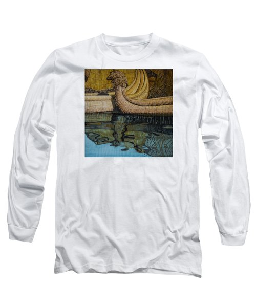 Uros Straw Boats And Island Long Sleeve T-Shirt