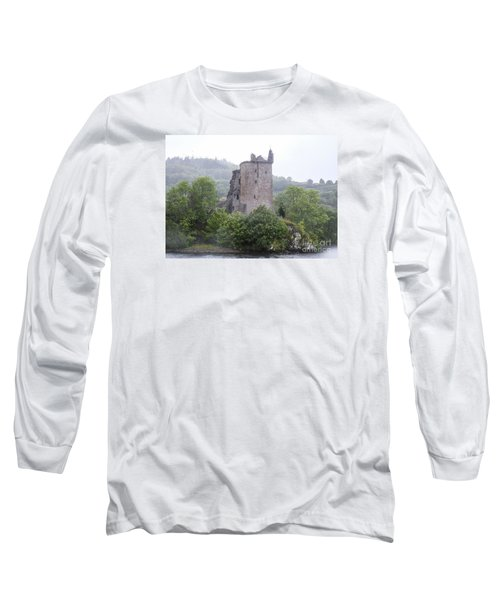 Urquhart Castle - Grant Tower Long Sleeve T-Shirt by Amy Fearn