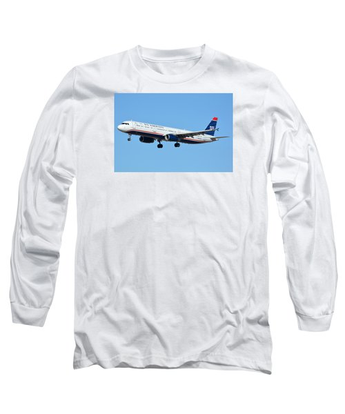 Us Airways Airbus A321-231 N567uw Long Sleeve T-Shirt