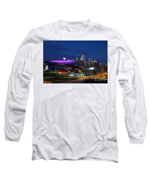 Us Bank Stadium Long Sleeve T-Shirt