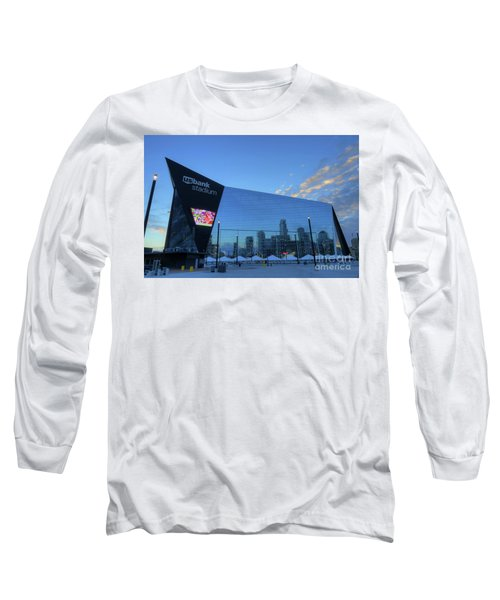 Usbank Stadium Morning Long Sleeve T-Shirt