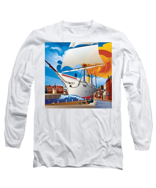 Uss Annapolis In Ego Alley Long Sleeve T-Shirt