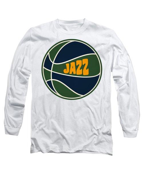 Utah Jazz Retro Shirt Long Sleeve T-Shirt