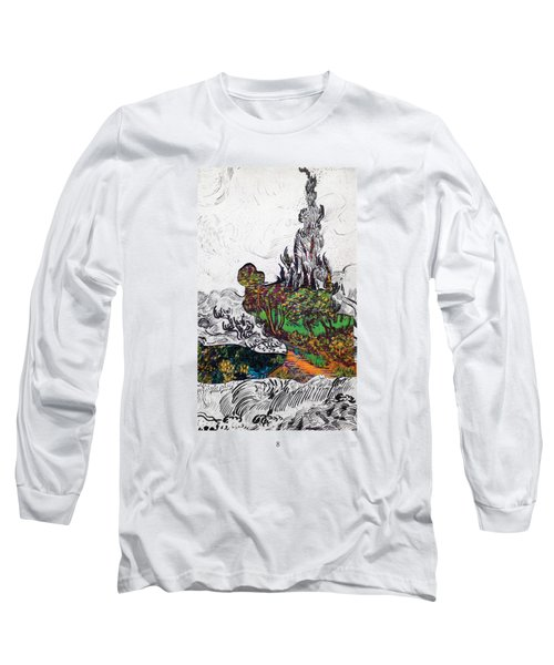 V Ogh 8 Long Sleeve T-Shirt by Stan  Magnan