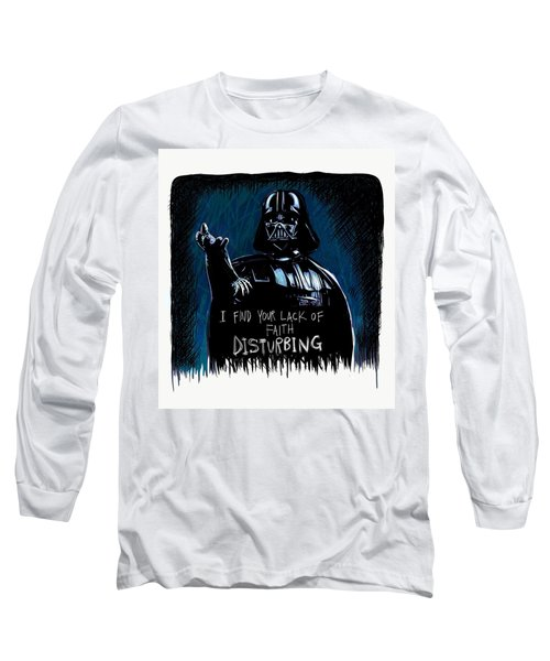 Long Sleeve T-Shirt featuring the digital art Vader by Antonio Romero