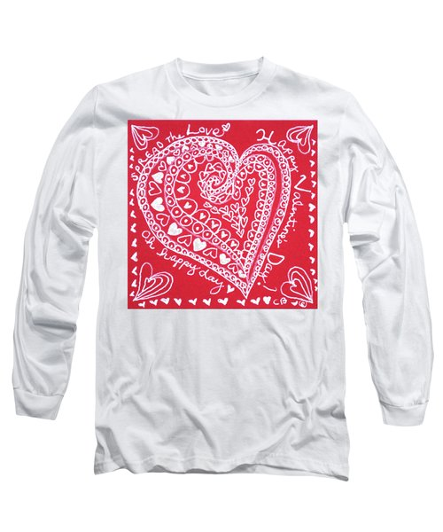Valentine Heart Long Sleeve T-Shirt