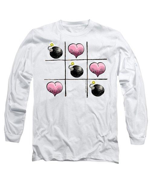Valentine Violence Long Sleeve T-Shirt