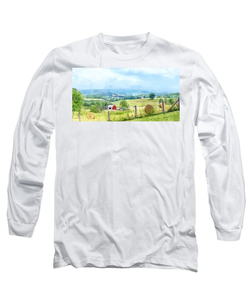 Valley Farm Long Sleeve T-Shirt by Francesa Miller