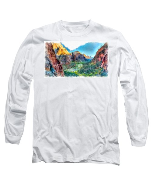 Valley Of Colours. Long Sleeve T-Shirt
