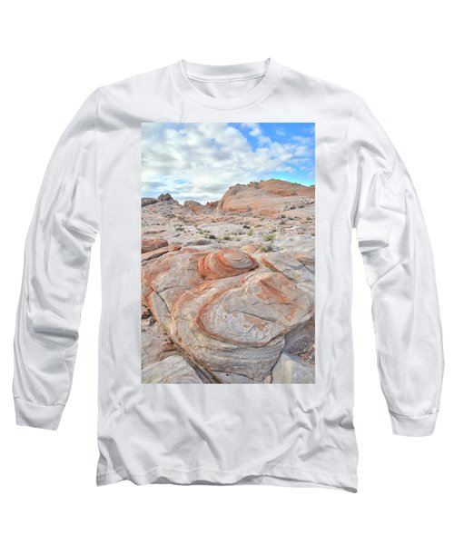 Valley Of Fire Beehives Long Sleeve T-Shirt by Ray Mathis