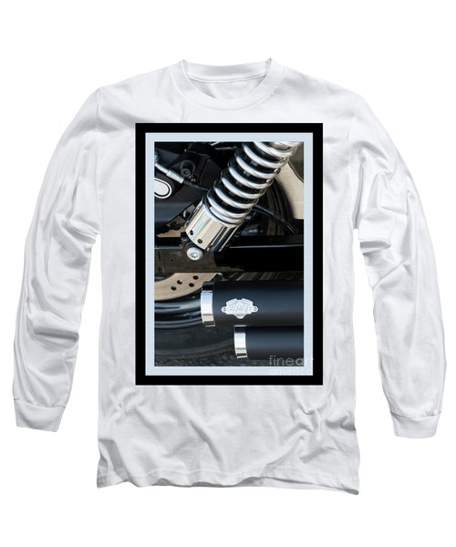 Long Sleeve T-Shirt featuring the photograph Vance And Hines by Wendy Wilton