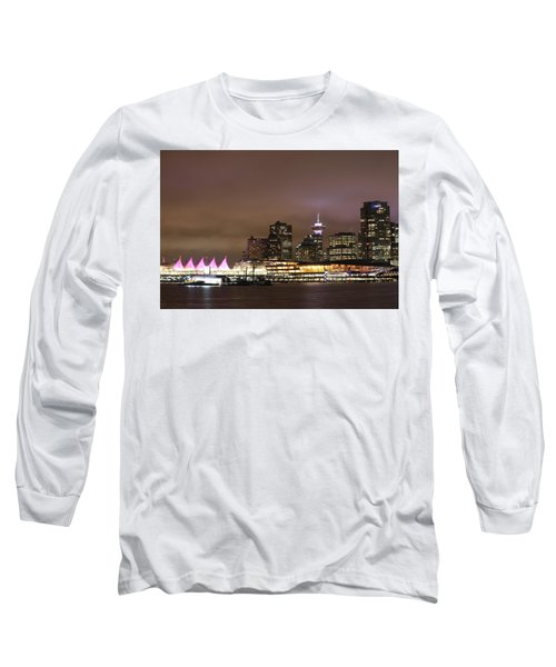 Vancouver Canada Place Long Sleeve T-Shirt