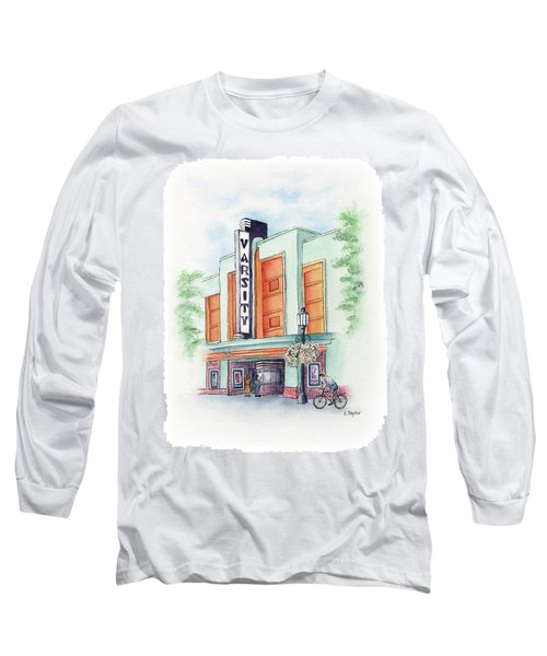 Varsity On Main Long Sleeve T-Shirt