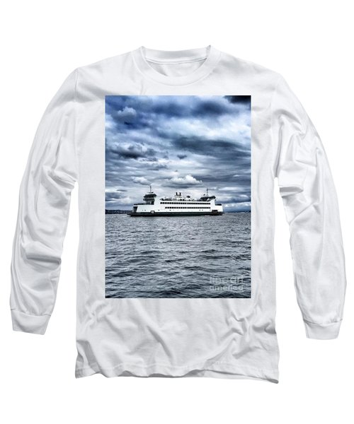 Vashon Island Ferry Long Sleeve T-Shirt