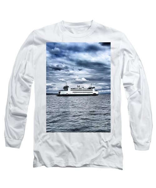 Vashon Island Ferry Long Sleeve T-Shirt