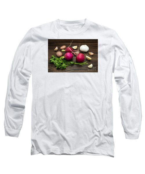 Vegetables Still Life Long Sleeve T-Shirt