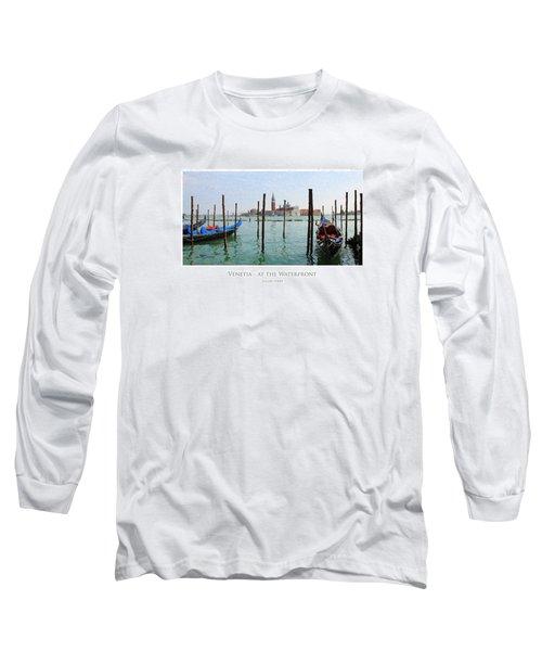 Venetia - At The Waterfront Long Sleeve T-Shirt