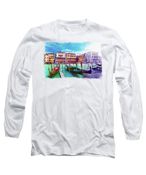 Venice Long Sleeve T-Shirt by Marian Voicu