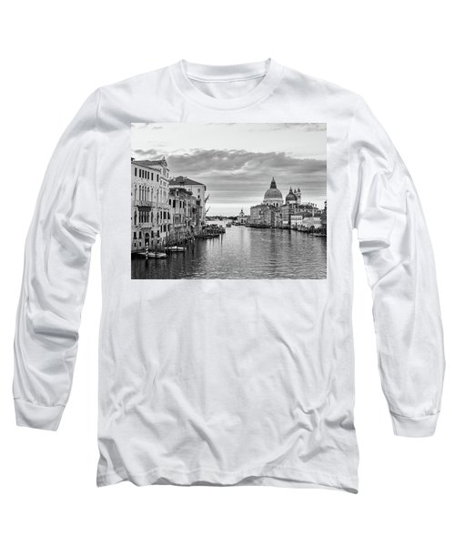 Long Sleeve T-Shirt featuring the photograph Venice Morning by Richard Goodrich