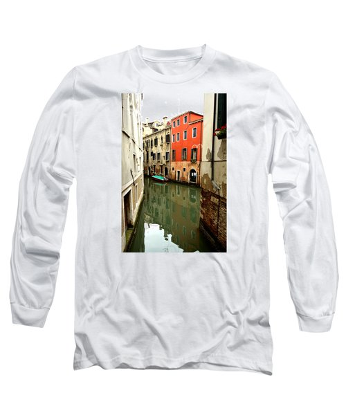 Long Sleeve T-Shirt featuring the photograph Venice Street Scene 3 by Richard Ortolano
