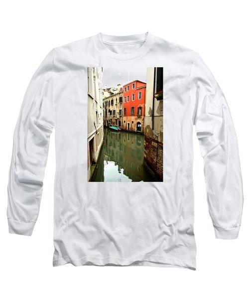 Venice Street Scene 3 Long Sleeve T-Shirt