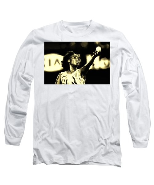 Venus Williams Match Point Long Sleeve T-Shirt by Brian Reaves