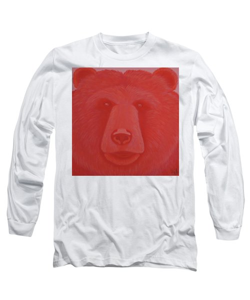 Vermillion Bear Long Sleeve T-Shirt