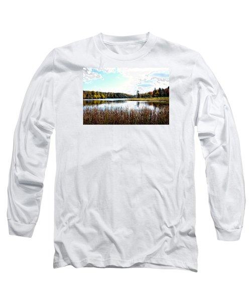 Vermont Scenery Long Sleeve T-Shirt by Rena Trepanier