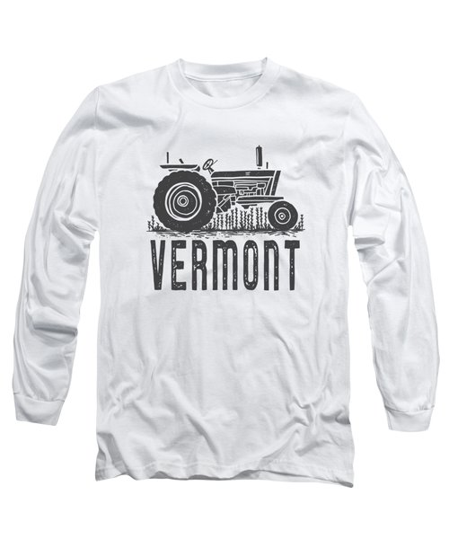Vermont Vintage Tractor Tee Long Sleeve T-Shirt
