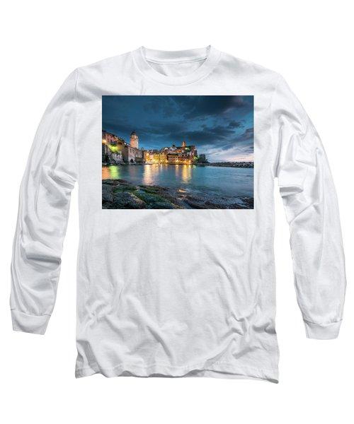 Vernazza - Cinque Terre Long Sleeve T-Shirt