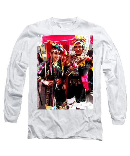 Very Proud Bolivian Dancers Long Sleeve T-Shirt