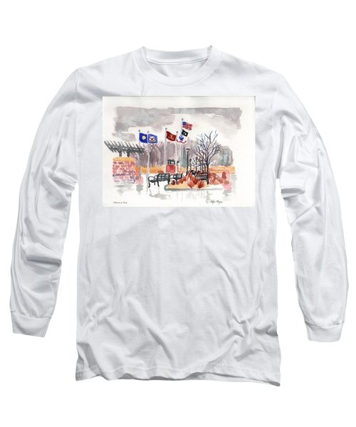 Veteran's Memorial Park Long Sleeve T-Shirt