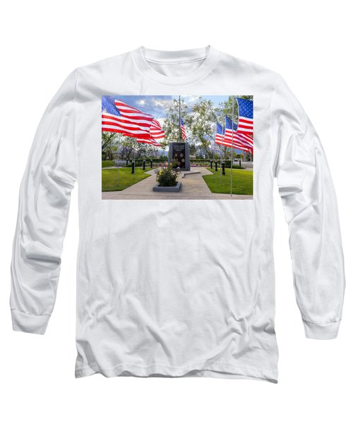 Veterans Monument Camarillo California Usa Long Sleeve T-Shirt
