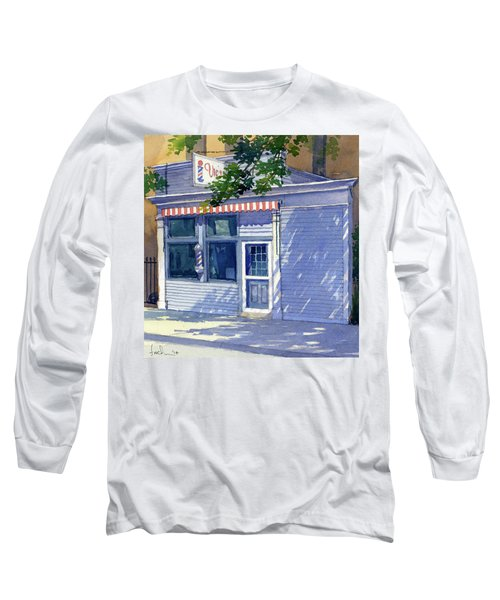 Vic's Barbershop Long Sleeve T-Shirt