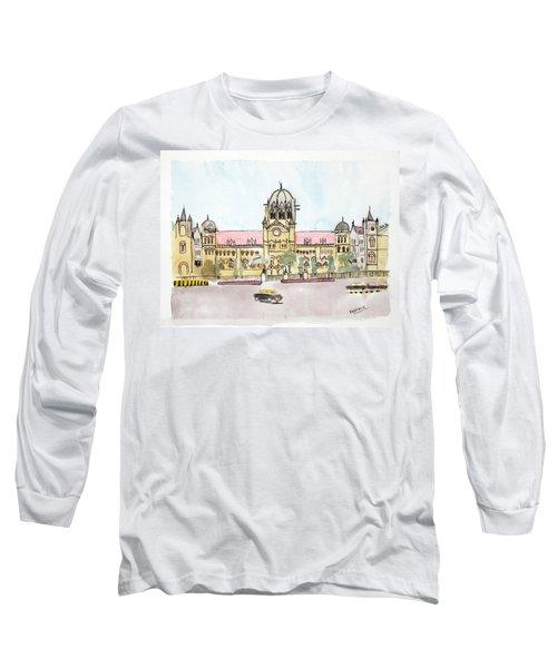 Victoria Terminus Long Sleeve T-Shirt