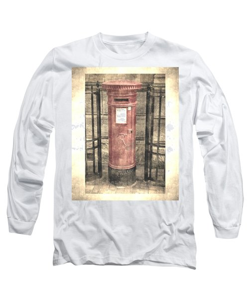 Victorian Red Post Box Long Sleeve T-Shirt