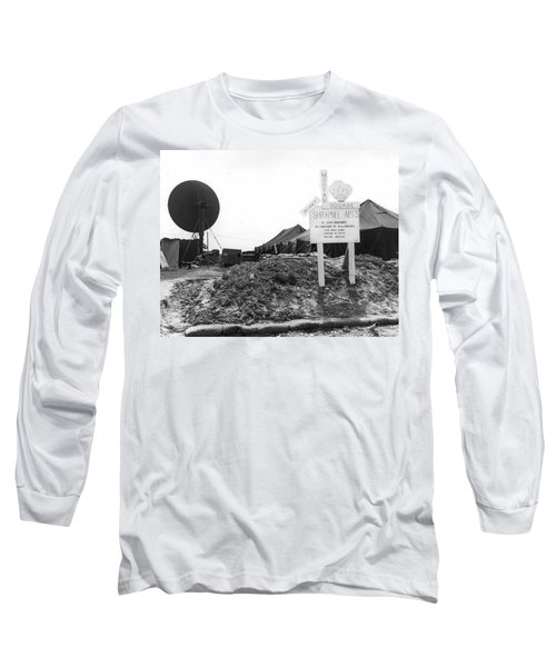 Vietnam Mortar Square Housing Long Sleeve T-Shirt