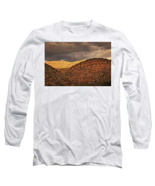 View From A Train Txt Long Sleeve T-Shirt