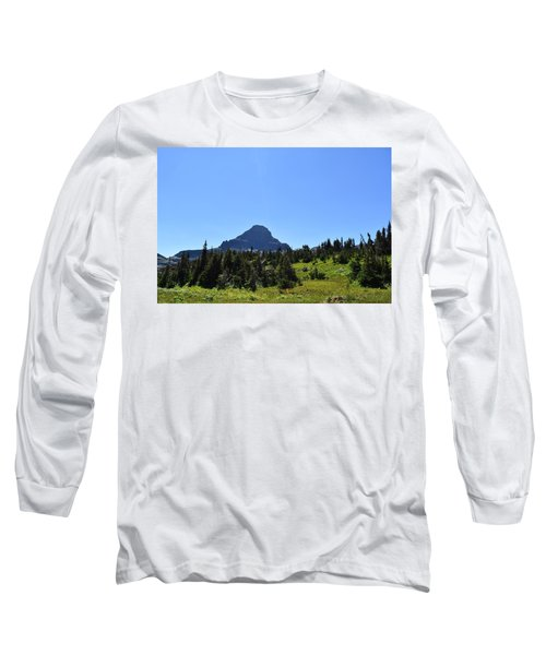 Long Sleeve T-Shirt featuring the photograph View From Logan's Pass by Dacia Doroff