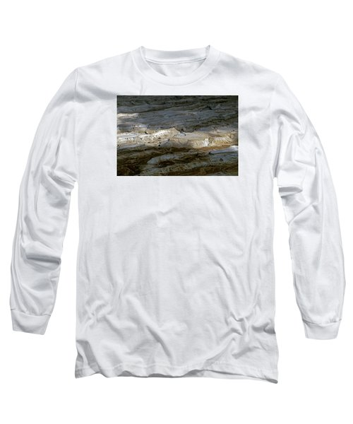 View From Masada Long Sleeve T-Shirt by Dubi Roman