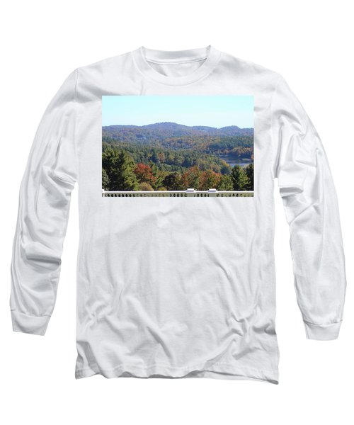 View From Moses Cone 2014c Long Sleeve T-Shirt