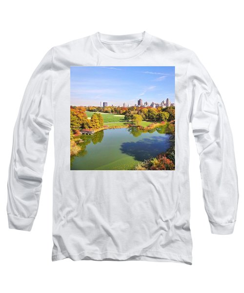 View From The Top  Long Sleeve T-Shirt by Charlie Cliques