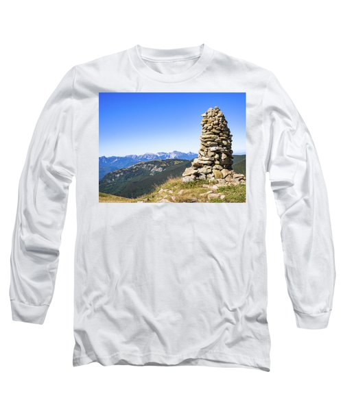 View Of The Apuan Alps Long Sleeve T-Shirt