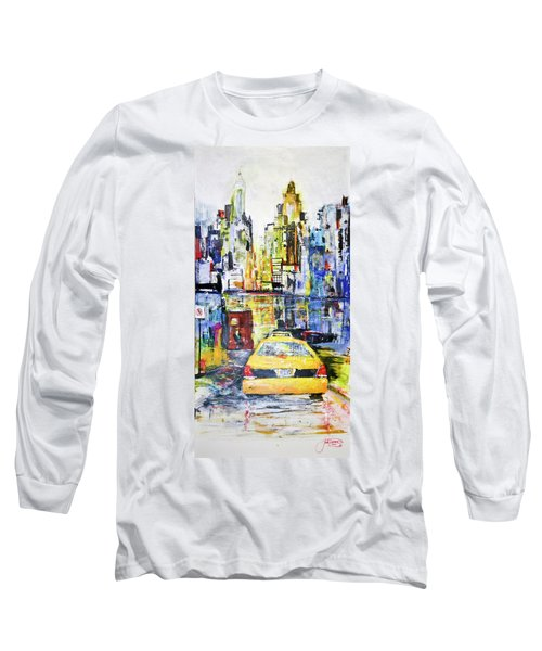 View To Manhattan Long Sleeve T-Shirt