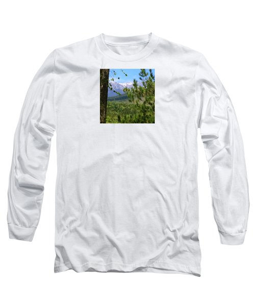 Views Of Katahdin Long Sleeve T-Shirt by Robin Regan