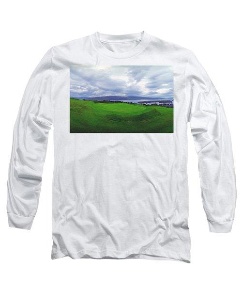 Views Of The Seas Long Sleeve T-Shirt by Jan W Faul